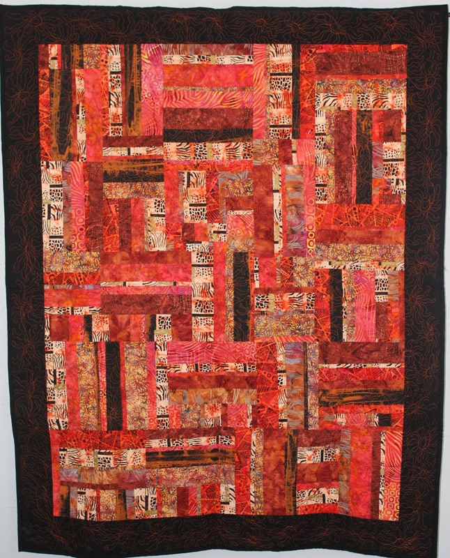 Detour, a quilt by Anne Hammond