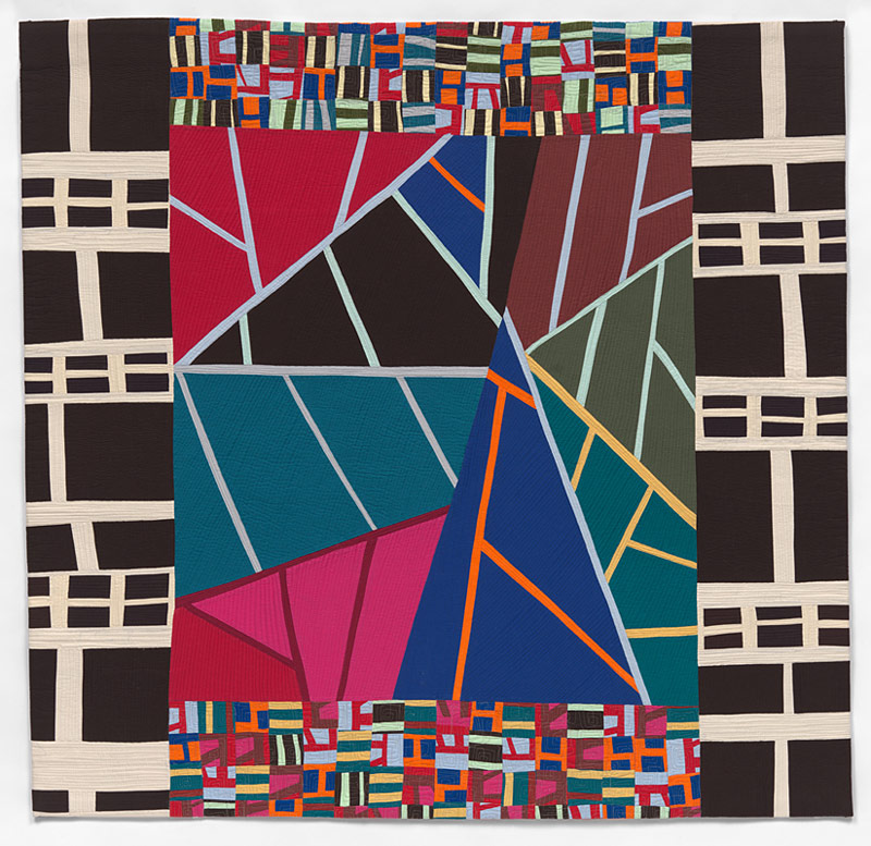 Study of Motifs contemporary quilt