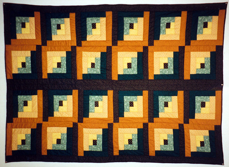 Anne Hammond - My first quilt